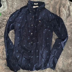 Boys Abercrombie button up